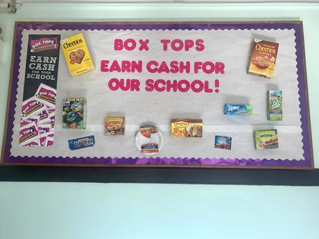 Please Send in Your Box Tops!!!